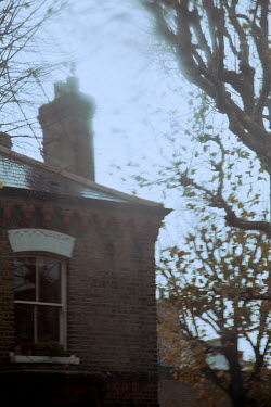 Miguel Sobreira Brick house and tree
