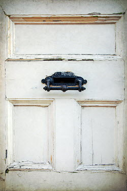 Miguel Sobreira Black Letter Slot in Weathered Door