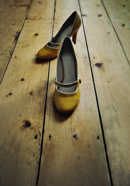 Lyn Randle High heel shoes on wooden floor