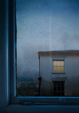 Lyn Randle House through window