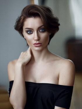 Alexey Kazantsev Portrait of young woman