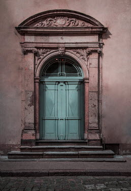 Jaroslaw Blaminsky Door to weathered building