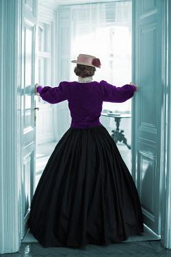 Ildiko Neer Victorian woman entering room