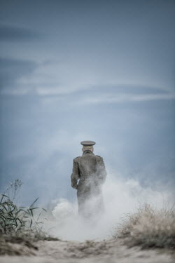 Magdalena Russocka Soldier standing on dusty road