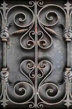 Jaroslaw Blaminsky Wrought iron decoration on door
