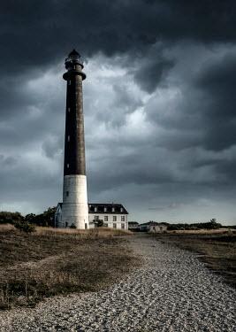 Jaroslaw Blaminsky Lighthouse under overcast sky