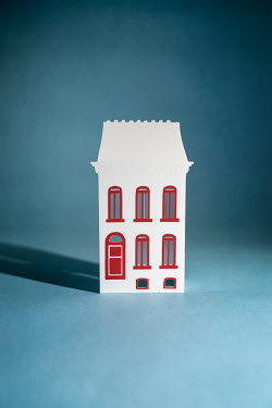 Peter Chadwick MODEL HOUSE WITH RED WINDOWS Miscellaneous Objects