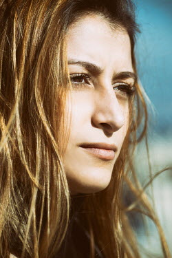 Mohamad Itani CLOSE UP OF SERIOUS WOMAN OUTDOORS Women