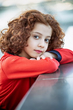 Mohamad Itani Girl leaning on banister