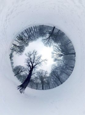 ILINA SIMEONOVA Little planet snowy park