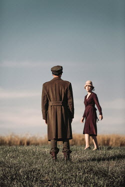 Magdalena Russocka wartime couple in countryside