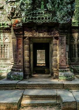 Jaroslaw Blaminsky ORANTE DOORWAY OF CAMBODIAN TEMPLE Religious Buildings