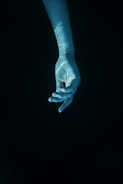 Magdalena Russocka woman's hand underwater