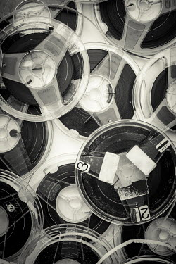 Paolo Martinez PLASTIC REELS OF RETRO TAPES Miscellaneous Objects