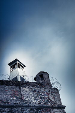 Paolo Martinez WALL AND LOOKOUT TOWER OF OLD PRISON Miscellaneous Buildings