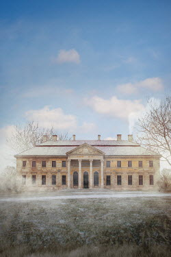 Ildiko Neer Old mansion at wintertime