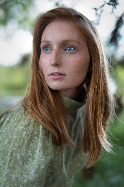 Rebecca Knowles Portrait of freckled young woman