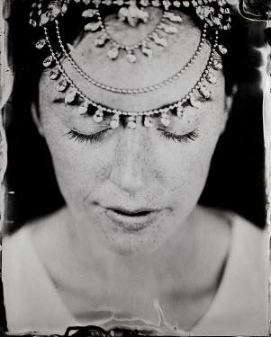 Angela Ward-Brown Young woman with tiara