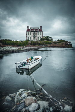 Evelina Kremsdorf Ocean Drive in Newport, Rhode Island, USA