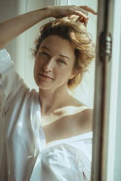Maria Yakimova Woman by window