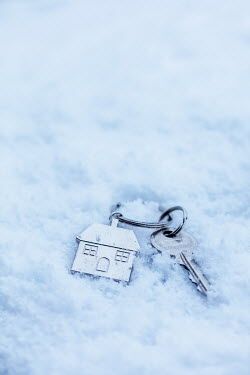 Stephen Mulcahey House key in snow