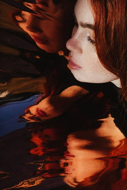 Matilda Delves Young woman and reflective surface