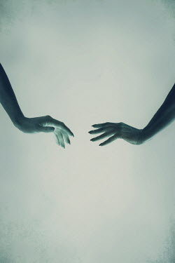 Magdalena Russocka close up of hands of two women