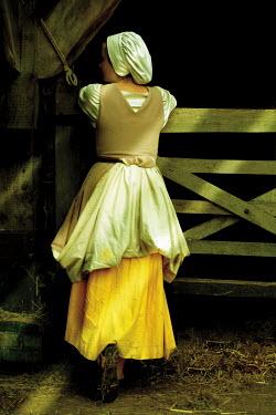 John Foley Maid in barn