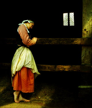 John Foley Maid in barn