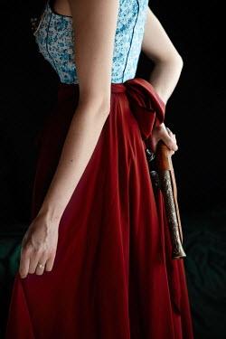 Natasza Fiedotjew historical woman holding flintlock