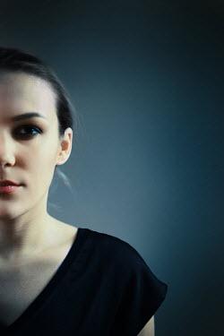 Ildiko Neer Half face of modern woman