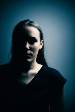 Ildiko Neer Shadowed modern woman inside