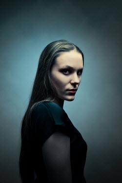 Ildiko Neer Suspicious woman looking at camera