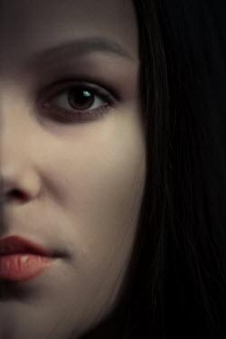 Ildiko Neer Close up of woman face