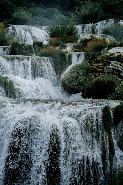 Magdalena Wasiczek RIVER WITH WATERFALLS Miscellaneous Water