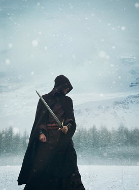 Mark Owen MAN WITH CAPE AND SWORD BY SNOWY MOUNTAIN Men