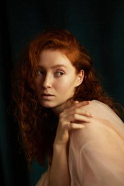 Elena Alferova WORRIED WOMAN WITH RED HAIR Women