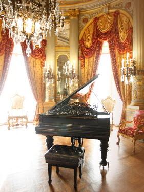ILINA SIMEONOVA GRAND PIANO IN PALACE INTERIOR Interiors/Rooms