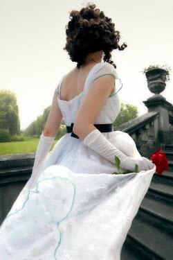 ILINA SIMEONOVA Regency woman in garden