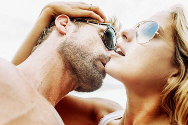 Stanislav Solntsev Intimate couple in sunglasses