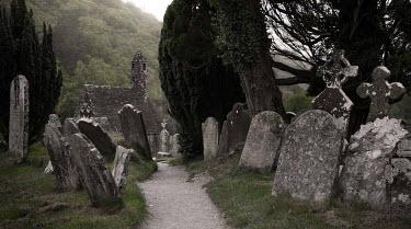 Rodney Harvey Graveyard and church
