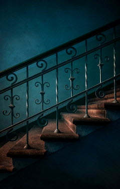 Jaroslaw Blaminsky STONE AND WROUGHT IRON STAIRCASE Stairs/Steps
