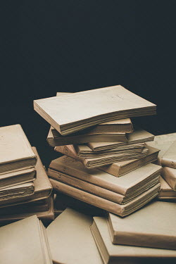 Paolo Martinez STACK OF OLD JOURNALS