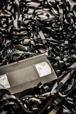 Paolo Martinez VIDEO WITH PILE OF TAPES