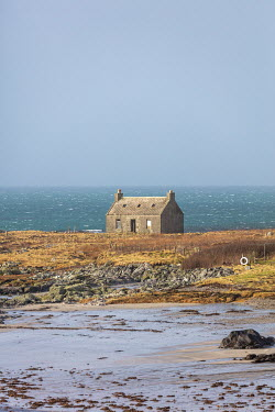 David Baker ISOLATED COTTAGE BY SEA