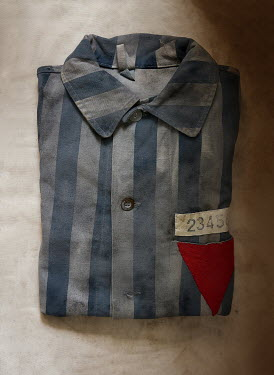 CollaborationJS FOLDED CONCENTRATION CAMP UNIFORM