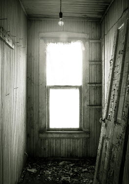 Rodney Harvey SMALL ROOM IN DERELICT WOODEN HOUSE