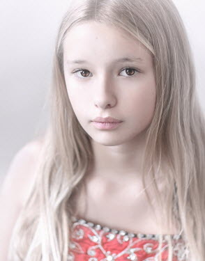 Sveta Butko SERIOUS YOUNG GIRL WITH LONG BLONDE HAIR