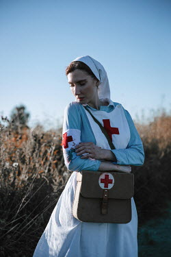 Natasza Fiedotjew war nurse spotting blood stains on her uniform