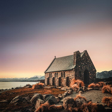 Evelina Kremsdorf Church of the Good Shepherd, Lake Tekapo, South Island, New Zealand